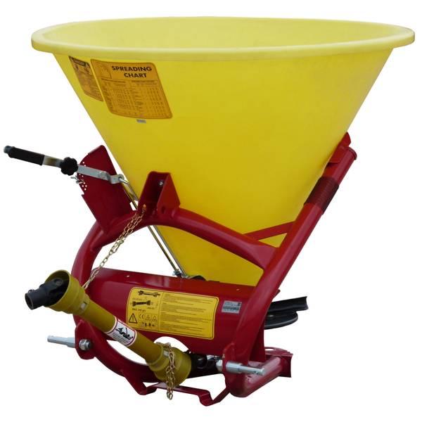 3-Point 500-lb Capacity Poly Seed/Fert Spreader