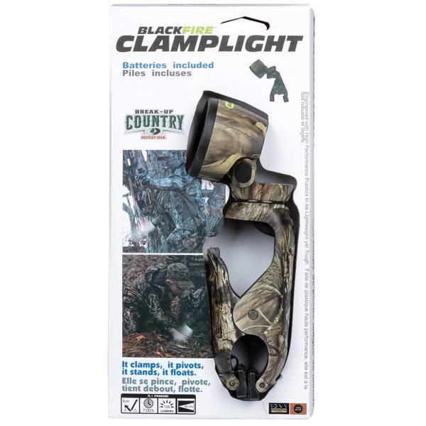 Blackfire Mossy Oak 3AAA LED Clamplight