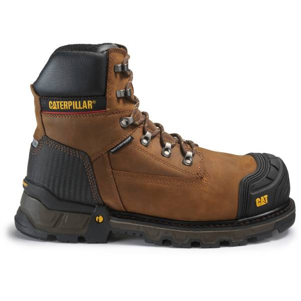 Cat Footwear Men's Dark Brown Excavator