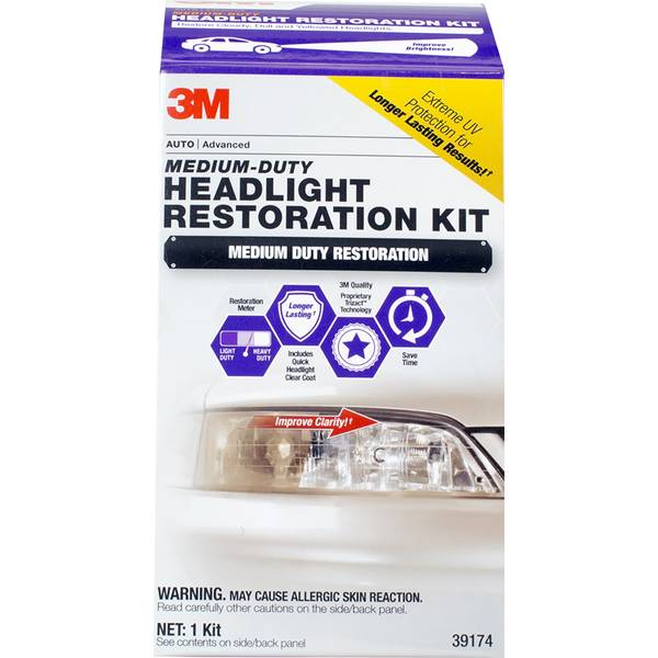 Med Duty Headlight Kit Quick Clear