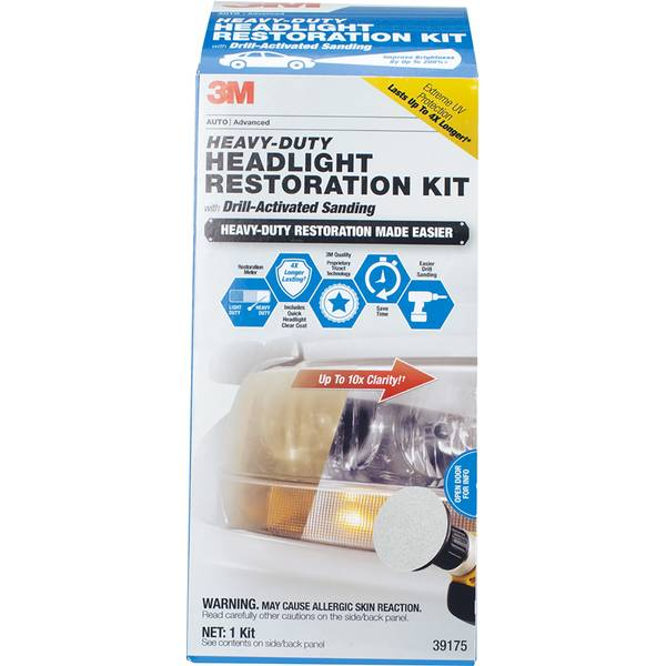 HD Headlight Kit with Quick Clear Coat