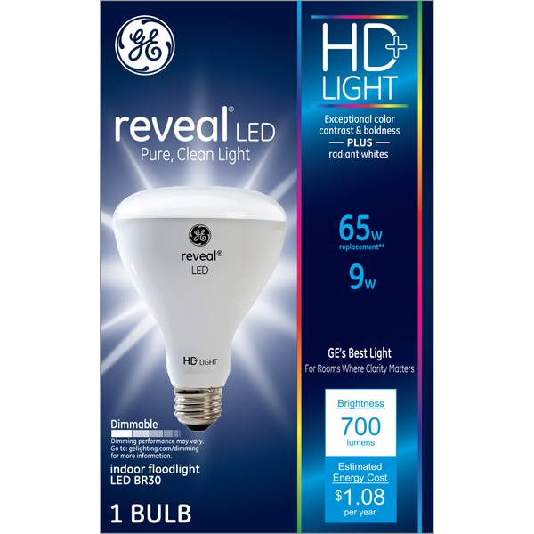 HD Reveal 9 W LED BR30 Flood
