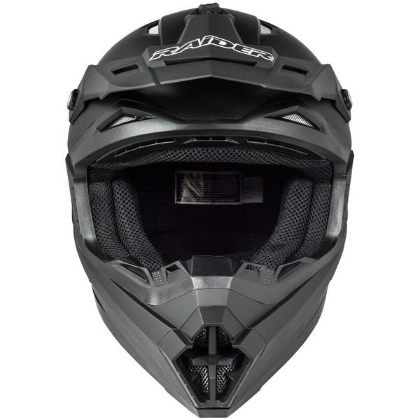 Adult Matte Black Wildfire MX Helmet