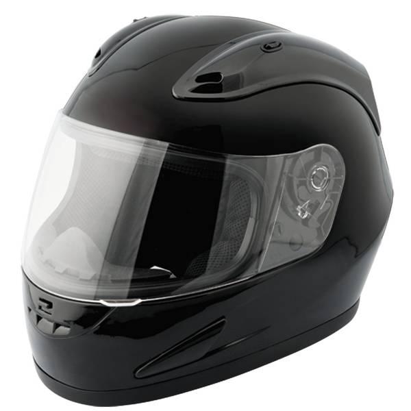 Adult Gloss Black Octane Full Face Helmet