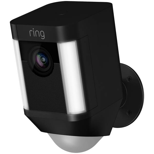 Battery Operated Security Camera >> Ring Black Battery Operated Home Security Camera