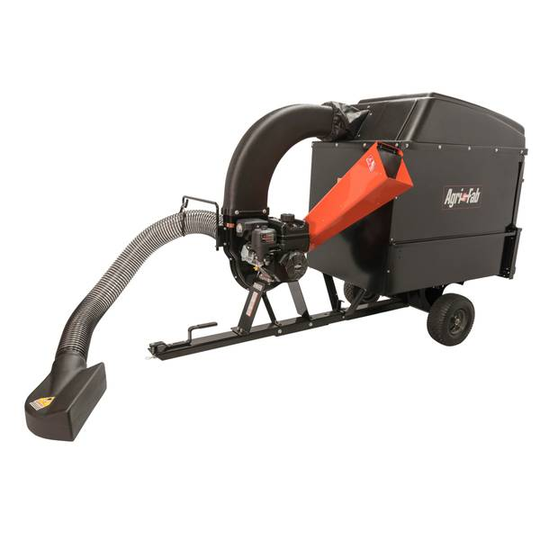 Wood Chipper and Vacuum