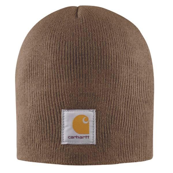 Men's Acrylic Knit Hat Canyon Brown