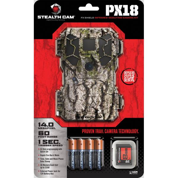 Stealthcam 14.0 MP NO Glo FX Shield Trail Camera