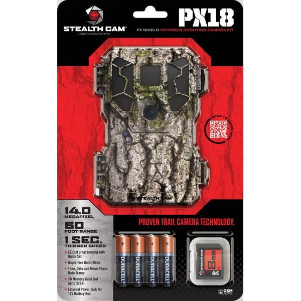 Stealth Cam 14.0 MP NO Glo FX Shield Trail Camera