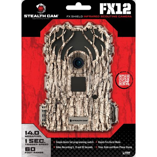 GSM 14 MP FX Shield Antler FP Trail Camera