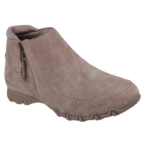 skechers slip on boots women's