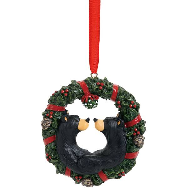 Christmas Kisses Bear Ornament