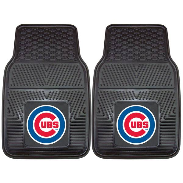 Chicago Cubs 2-Piece Heavy Duty Vinyl Car Mats