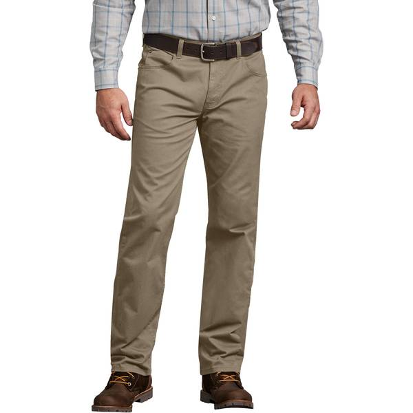 Men's Rinsed Desert Sand Flex 5-Pocket Pants