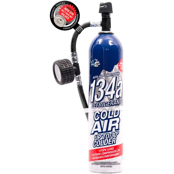 18 oz 134A Refrigerant Reusable Gauge