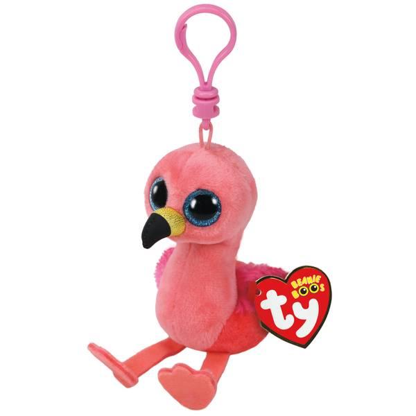 Beanie Boo Clip - Flamingo