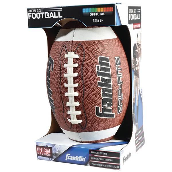 Franklin Official Grip Rite PVC Football adad80372b1