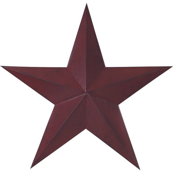 "Transpac 24"" Red & Black Star"