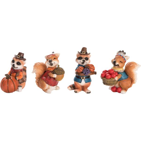 Mini Res Woodland Critter Figure Assortment