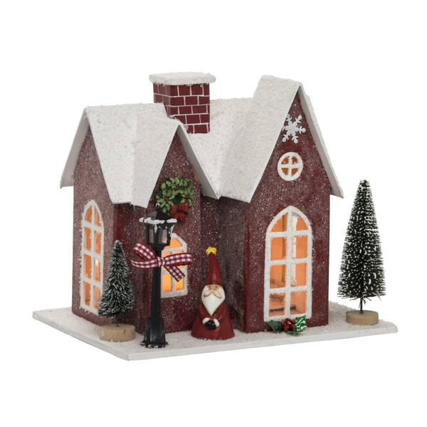 Plywood Light Up Christmas House