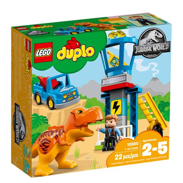 Duplo 10880 JW T-Rex Tower