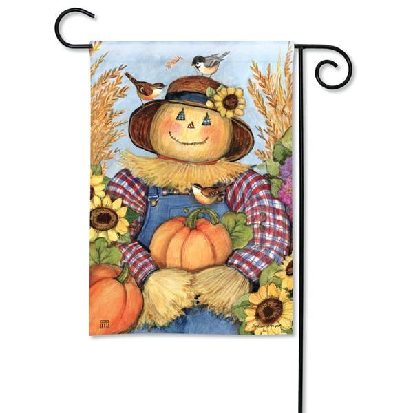 "18"" x 12.5"" Happy Harvest Garden Flag"