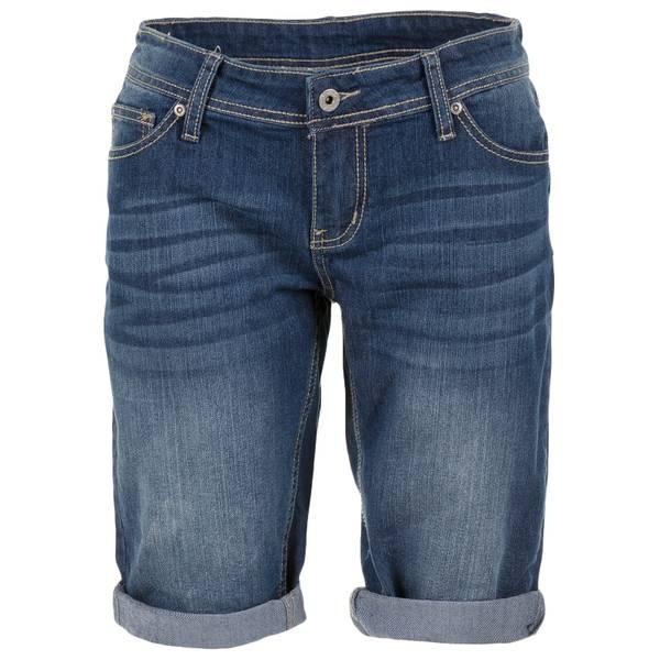 "Women's 12"" Heavy Stitch Roll Cuff Bermuda Shorts"