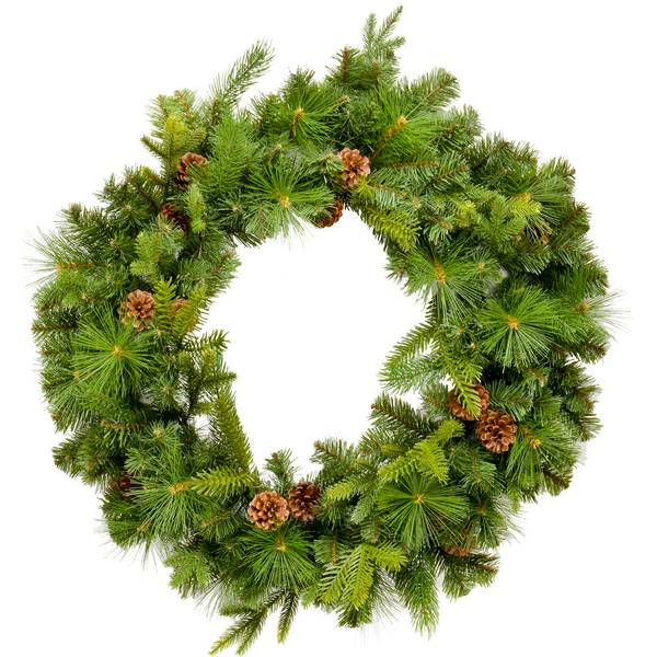 "30"" Highland Park Pine Wreath"