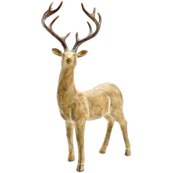 """17"""" Standing Deer Figure"""