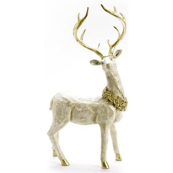 """17.25"""" Standing Deer Figure"""