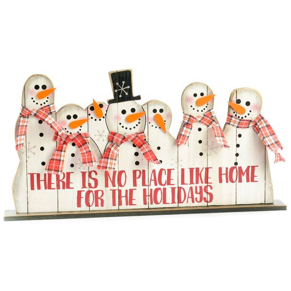 There Is No Place Like Home Snowman