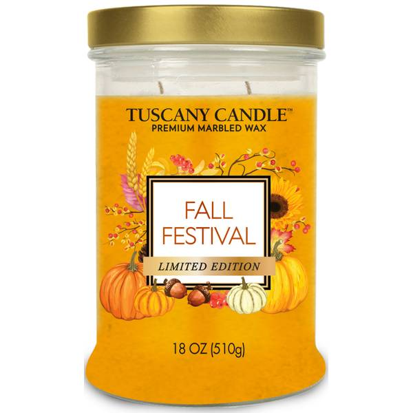 Tuscany Fall Festival Jar Candle
