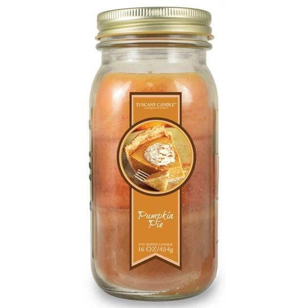 Pumpkin Pie Pour Jar Candle