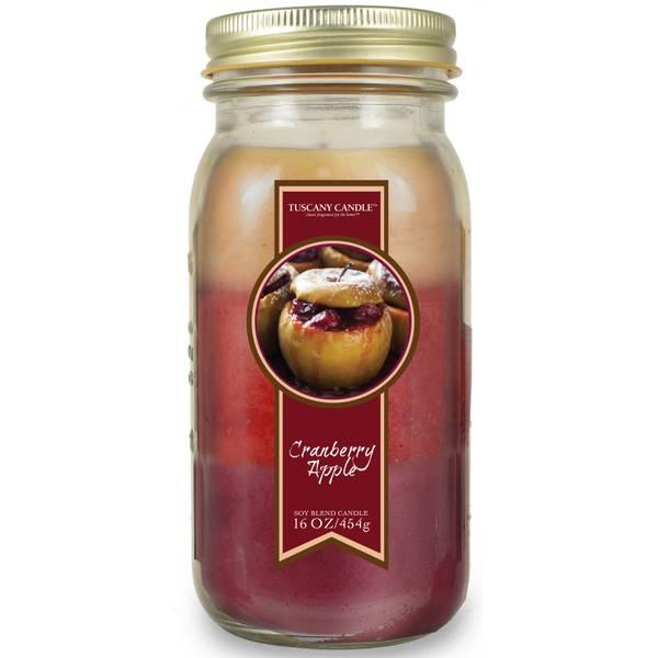 Cranberry Apple Pour Jar Candle