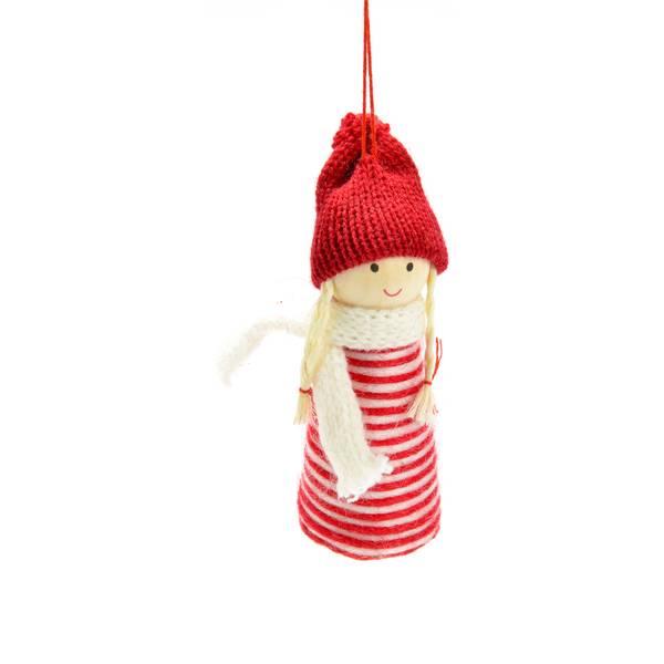Wool Girl Ornament