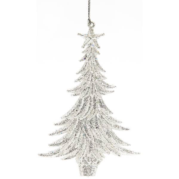 "5.75"" Clear Tree Ornament"