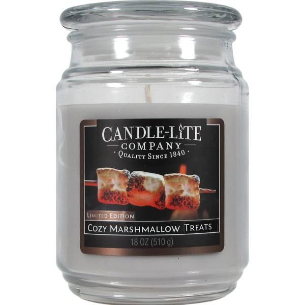 18 oz Marshmallow Treats Jar Candle