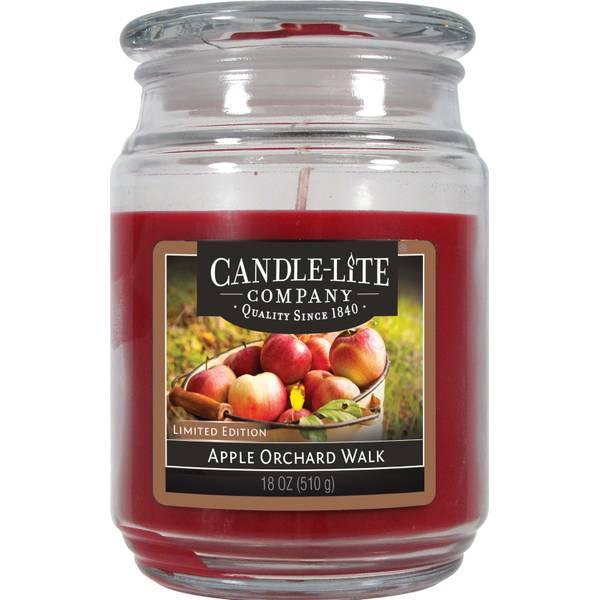 18 oz Apple Orchard Walk Jar Candle