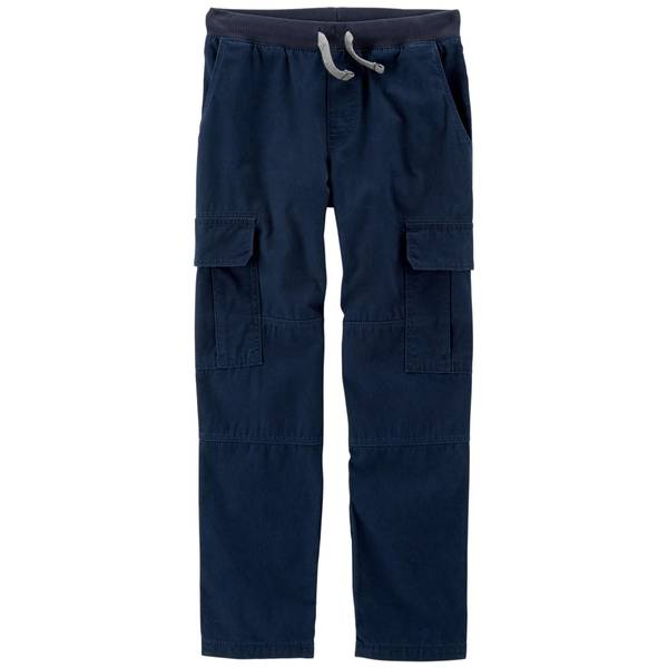 Boy's Reinforced Knee Pull-On Pants