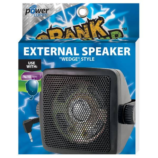 CB External Speaker Wedge Style