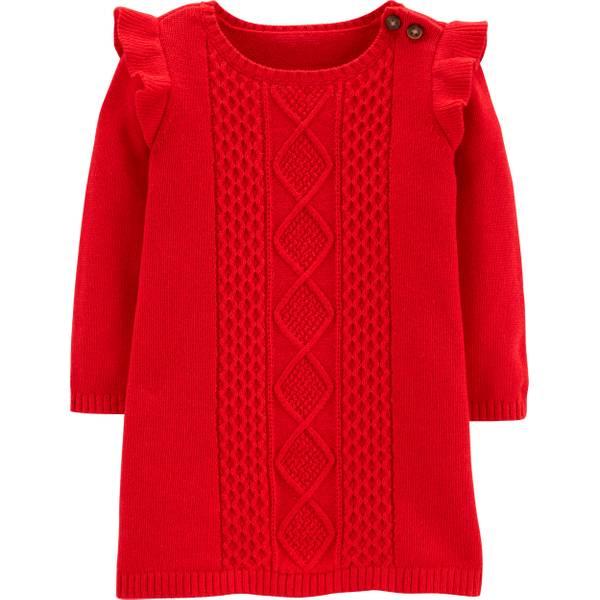 5829875d5 Carter's Infant GIrls' Ruffle Dress Red