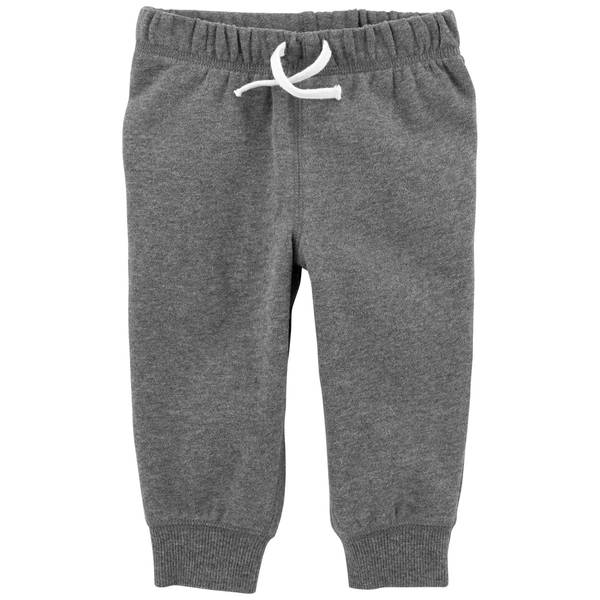Infant Boys' Dark heather Fleece Pants