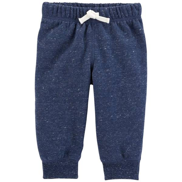 Infant Boys' Navy Fleece Pants