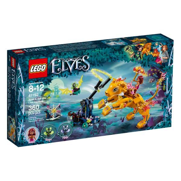 41192 Elves Azari & Fire Lion Capture