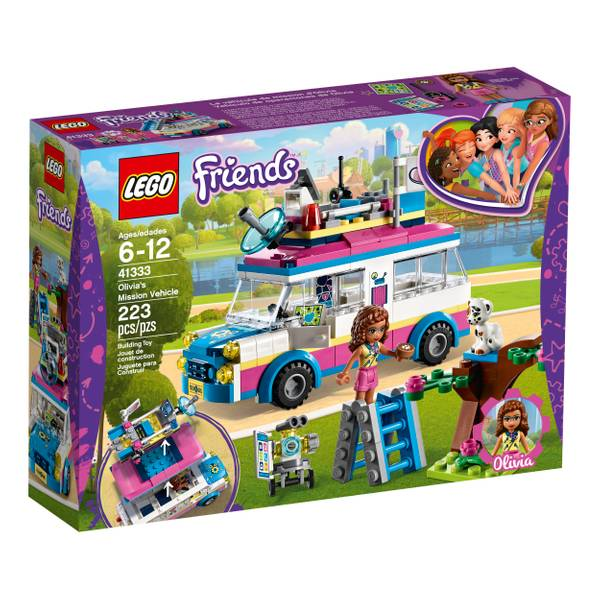 41333 Friends Olivia Mission Vehicle