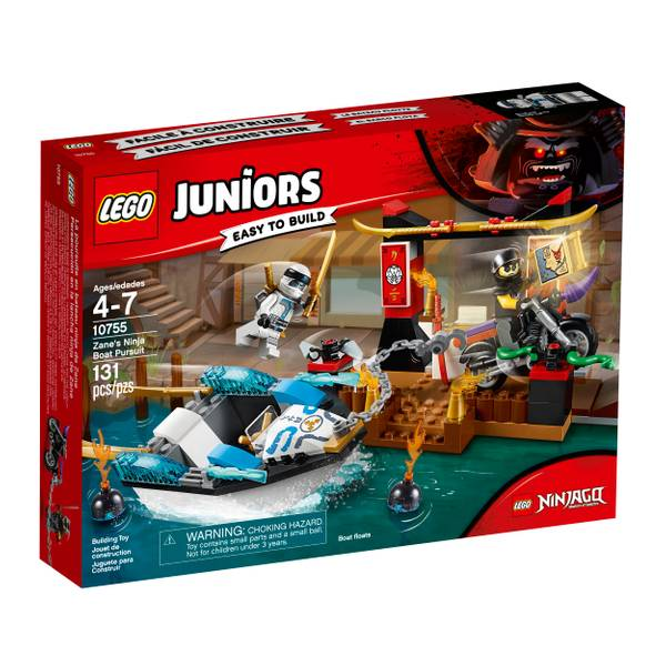 10755 Juniors Zanes Ninja Boat Purs