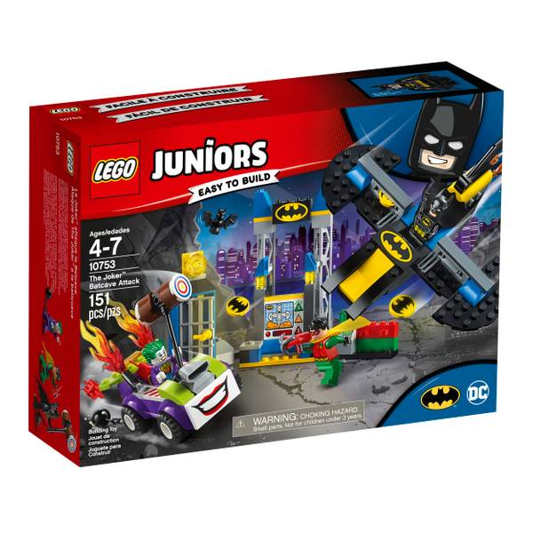 10753 Juniors Joker Batcave Attack