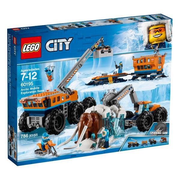 60195 City Arctic Mobile Expl Base