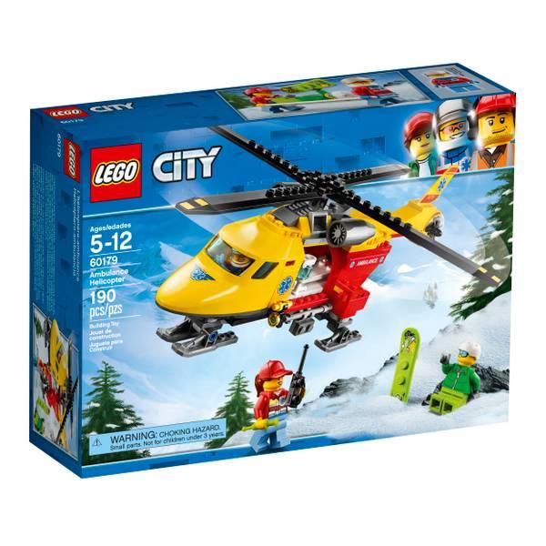 60179 City GV Ambulance Helicopter