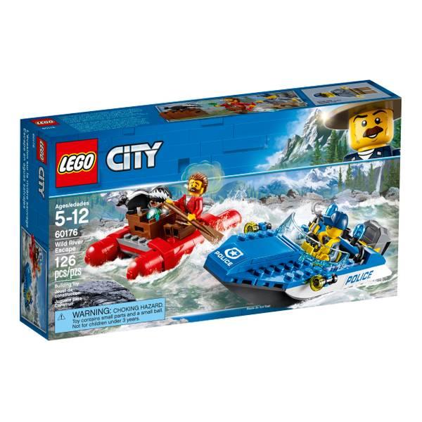 60176 City Police Wild River Escape